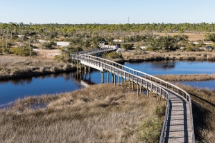 Big Lagoon State Park walking path