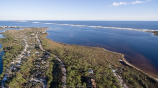Big Lagoon State Park, Drone view