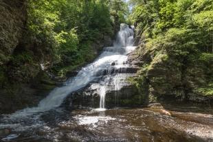Dingman Falls: Second highest waterfall in Pennsylvania