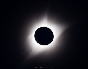 Outer corona at the 2017 solar eclipse at Glendo State Park, Wyoming
