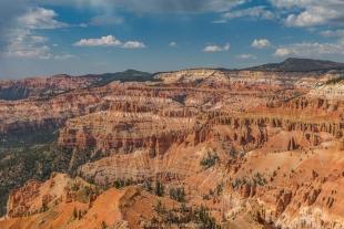 Grand view at Cedar Breaks National Monument, Utah