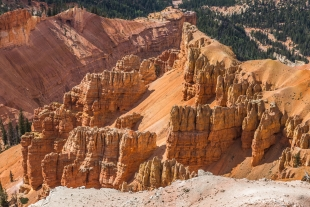 Rock formations at Cedar Breaks National Monument, Utah