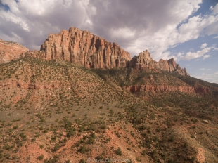 West side of Zion Canyon, Zion National Park, Utah
