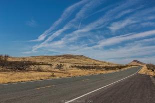 Route 9 near Hachita, New Mexico