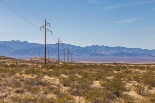 The east side of the Chiricahua Mountains, Arizona