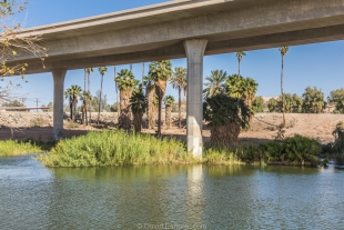 Interstate 8 crossing the Colorado River, Yuma, Arizona