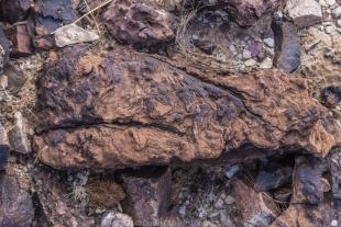 Weathered rock along hike around Crystal Hill, Kofa National Wildlife Refuge, Arizona