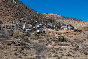 North side of Jerome, Arizona