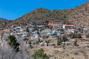 South side of Jerome, Arizona