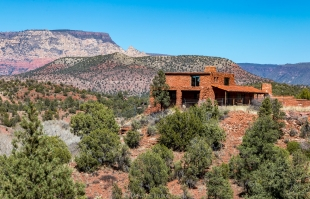 House of Apache Fires, Red Rock State Park, Sedona, Arizona