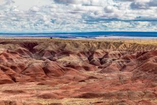 Painted desert, Petrified Forest National Park, Arizona
