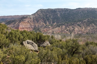 Rock garden trail, Palo Duro Canyon State Park, Texas