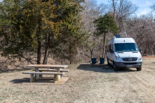 California Road Campground, Red Rock Canyon State Park, Oklahoma