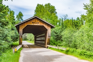 Covered Bridge, Smith Rapids near Park Falls, Wisconsin