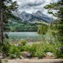 Tetons and Taggart Lake trail
