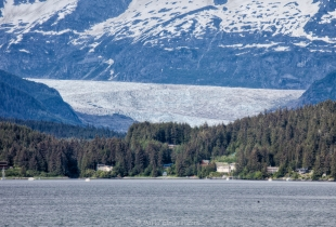 Mendenhall Glacier from the Ferry
