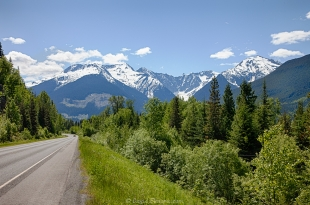 Along Route 16 in BC