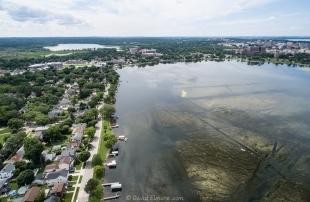 Properties along Monona Bay