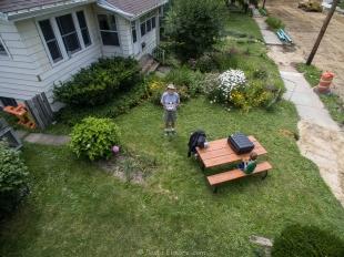 Steven's front yard