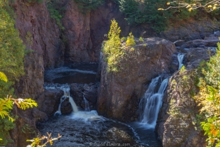 Copper Falls at Copper Falls State Park, Mellen, Wisconsin