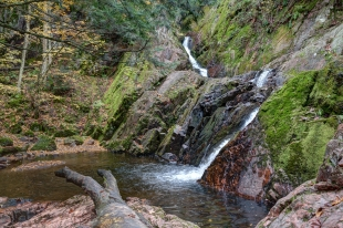 Morgan Falls, Chequamegon-Nicolet National Forest, Wisconsin