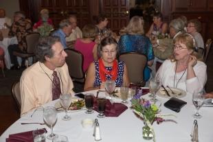Bill Cushing, Wilda Fowler Cushing, Sandy Harrison Favret