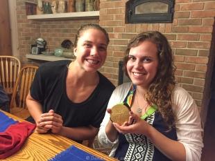 Amanda Elmore and Claire Lemar Sadof