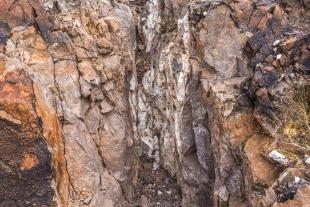 Quartz vein, Crystal Hill Area, Kofa National Wildlife Refuge, Arizona