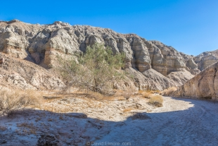 Late sun in side canyon, Mecca Hills Wilderness, Box Canyon Road, California