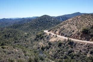 Prescott National Forest along route 89, Prescott, Arizona