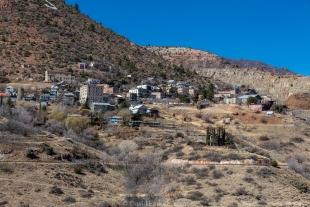 North side of Jerome, Arizona
