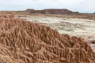 Badland formation, Petrified Forest National Park, Arizona
