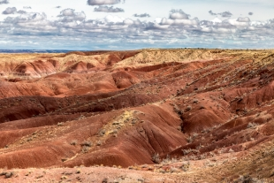 Tiponi Point, Painted desert, Petrified Forest National Park, Arizona