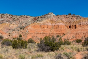 Canyon wall, Palo Duro Canyon State Park, Texas
