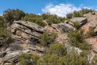 Rock garden trail, Palo Duro Canyon State Park, Texas
