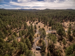 White Spar Campground, Prescott National Forest, Arizona