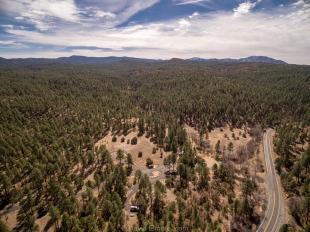 White Spar Campground facing south, Prescott National Forest, Arizona