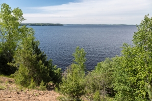 Lake view trail, Lake Wissota State Park, Chippewa Falls, Wisconsin