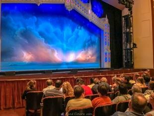 Adler Theatre before The Book of Mormon, Davenport, Iowa