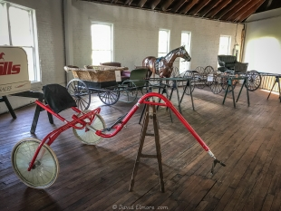 Upstairs at The Round Barn, Lexington, KY