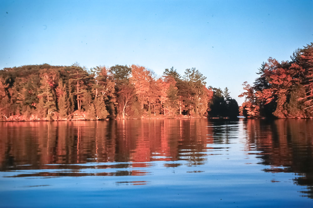 Island in fall - October 1975