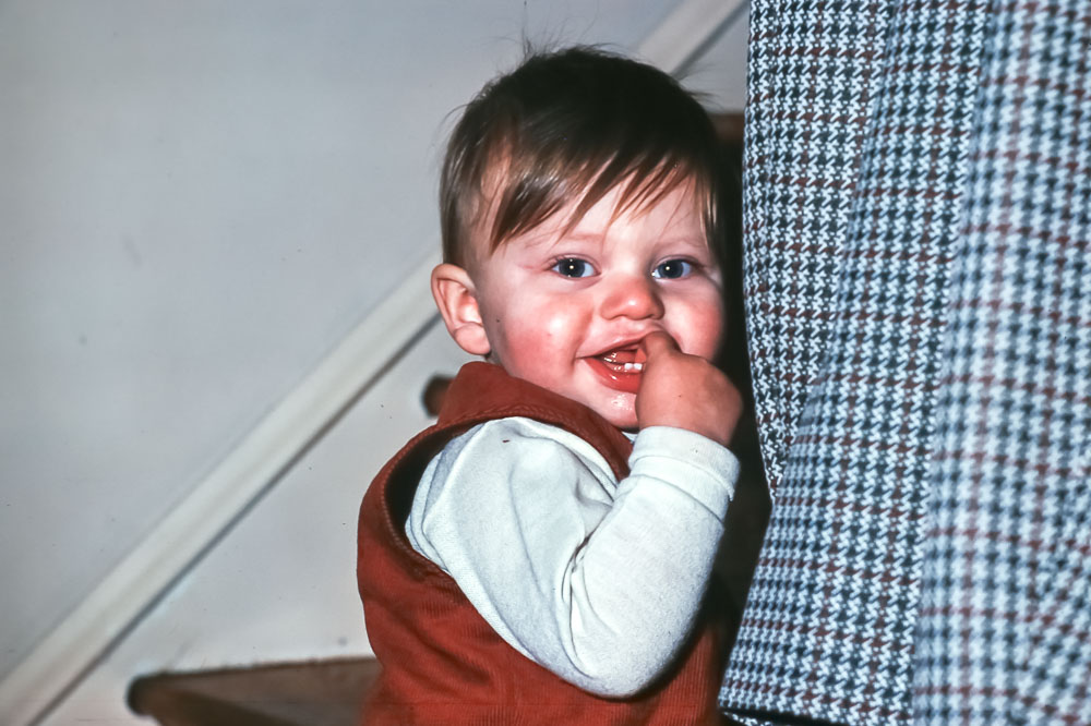 Andrew - Christmas 1975