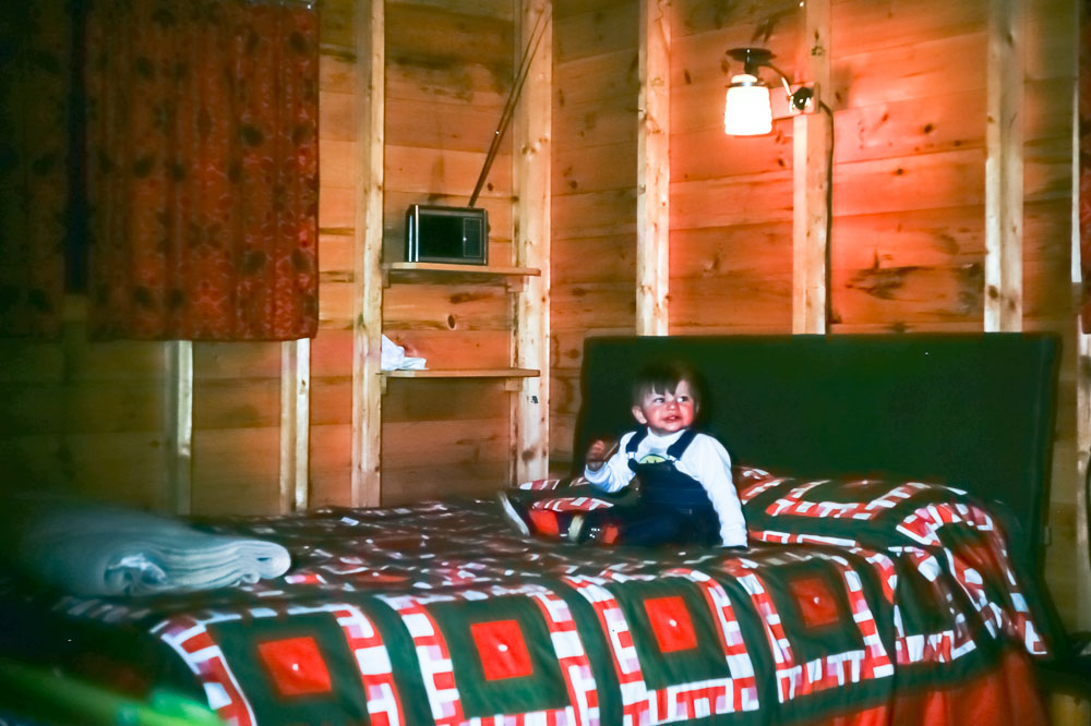 Winter in the cabin March 1976