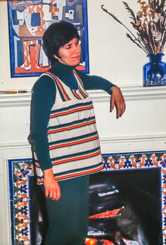 Janet with Steven - November 1976
