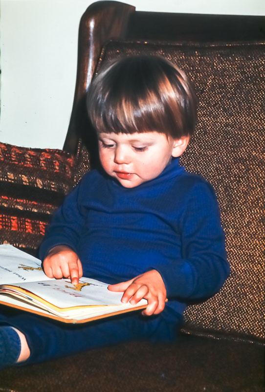 """1976 Andrew """"reading"""""""