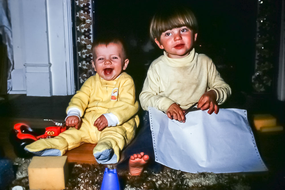 Steven and Andrew 1977
