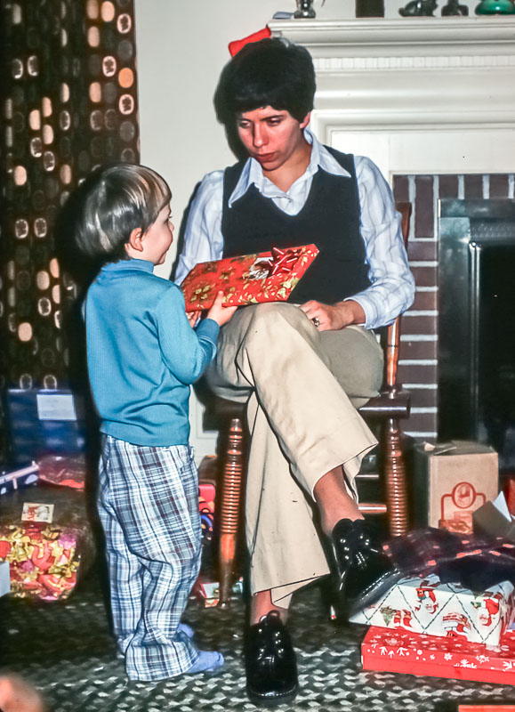 Andrew and Janet - December 1977