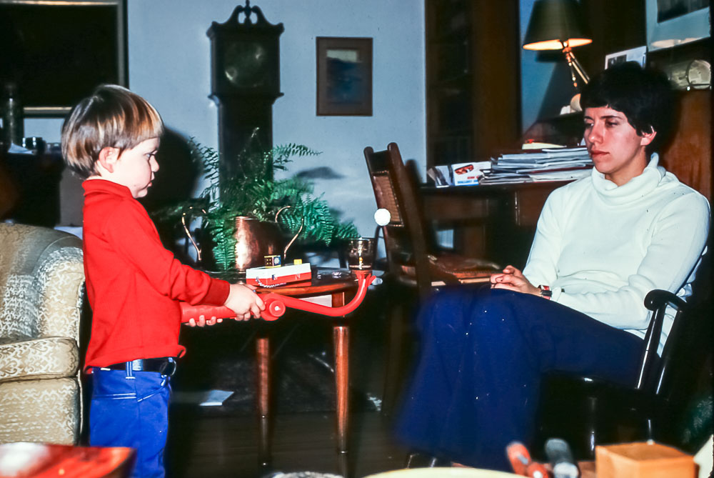 Andrew and Janet Christmas 1977