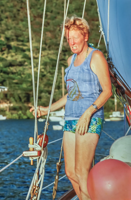 Margie - Virgin Islands - February 1978