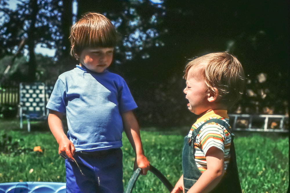 Andrew and Steven - June 1978